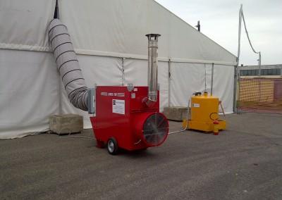 Impianto riscaldamento e condizionamento