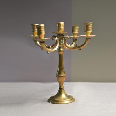 candelabro ottone - catalogo