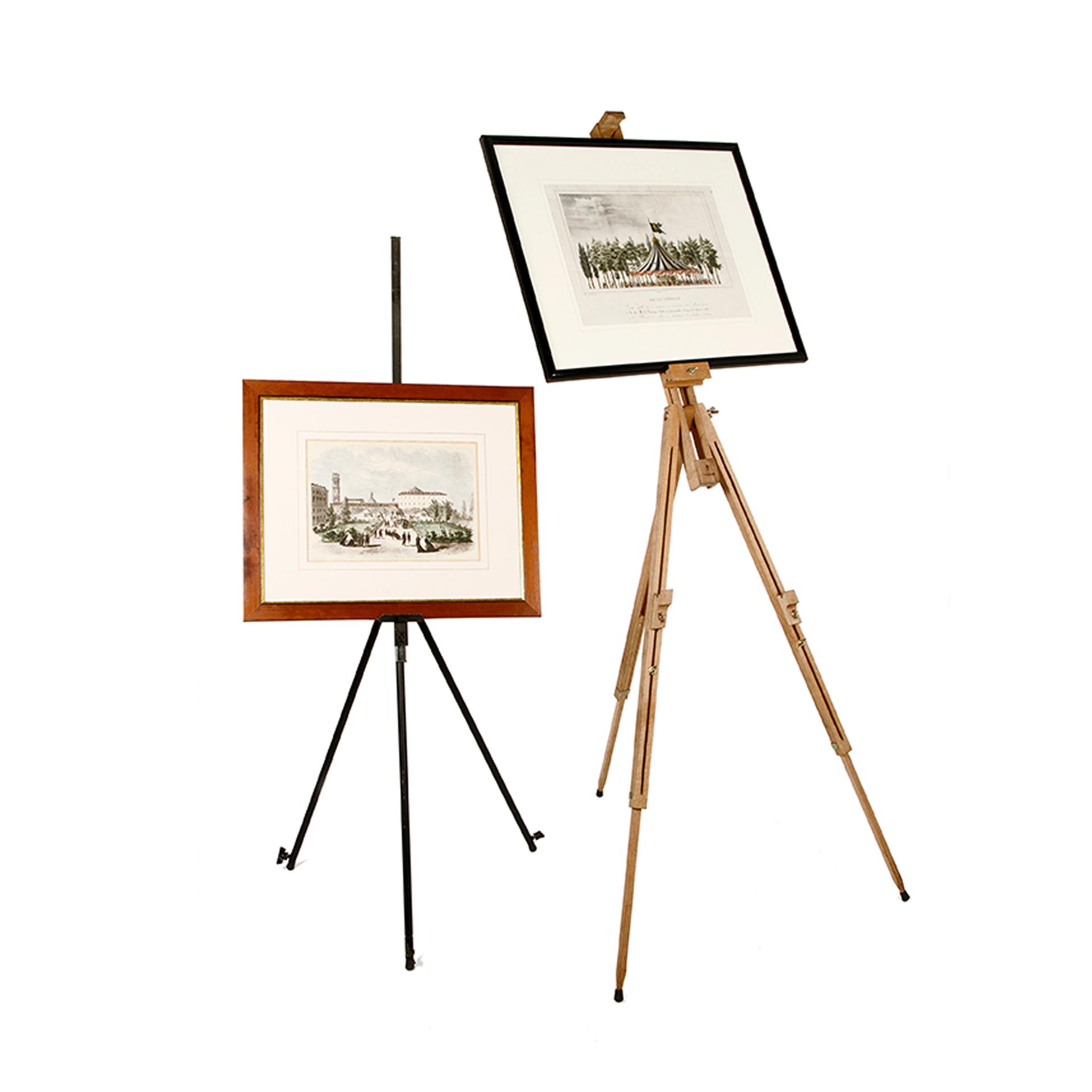 Cavalletto da pittore centro noleggio - Cavalletto da pittore da tavolo ...