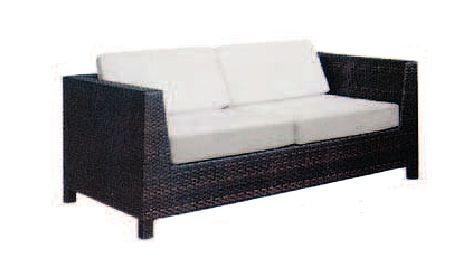 Polyrattan Sofa Centro Noleggio