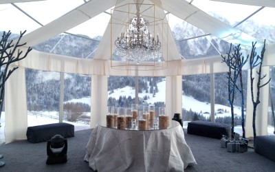 Debutto in società tra le Alpi Svizzere