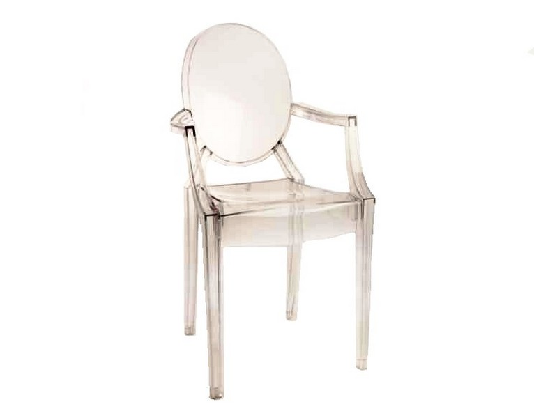 LOUIS GHOST CHAIR - Centro Noleggio