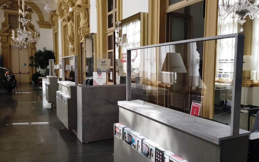 Nuovi spazi di accoglienza in sicurezza al Circolo dei Lettori di Torino